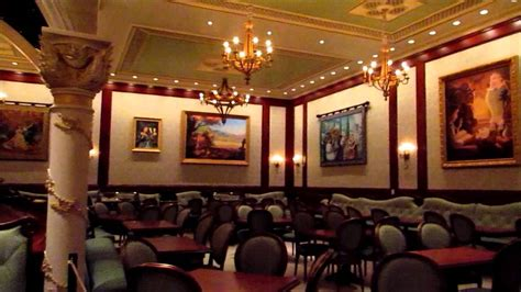 Be Our Guest Restaurant  All Three Dining Rooms Youtube