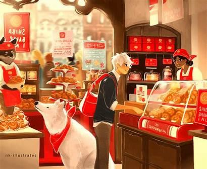 Bakery Illustration Nkim Doodles Pretty Doodle