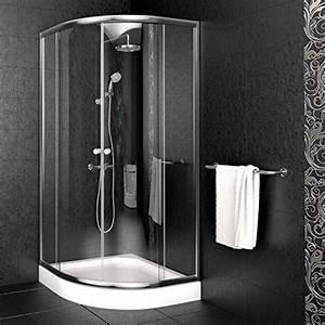 Gartensauna Mit Dusche : duschkabine 90x90cm viertelkreis inkl duschtasse duschabtrennung duschwanne dusche m bel24 ~ Whattoseeinmadrid.com Haus und Dekorationen