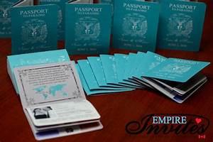custom destination passport wedding invitations canada With destination wedding invitations punta cana