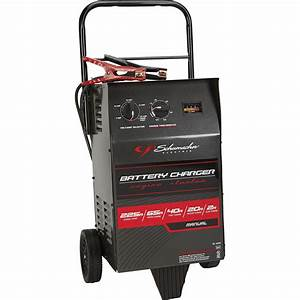 Schumacher 12 Volt Elite Wheeled Battery Charger With