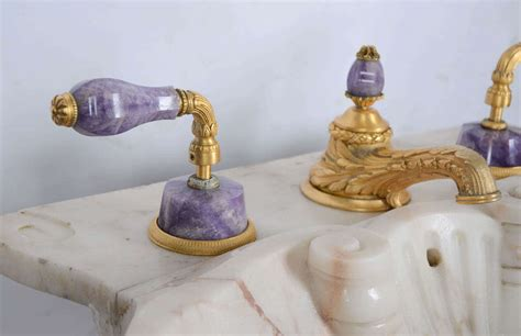 sherle wagner shell sink sherle wagner marble pedestal sink with gold plated purple