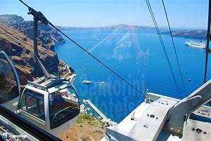 Walking in Fira, Santorini