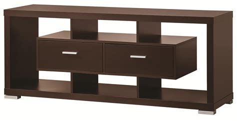 coaster entertainment units modern tv console value city