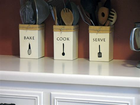 diy kitchen utensil holder make your own kitchen utensil holders crafts by amanda Diy Kitchen Utensil Holder