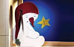 Basteln Holz Weihnachten Kostenlos : schneemann aus holz schneemann basteln ideen ~ Lizthompson.info Haus und Dekorationen