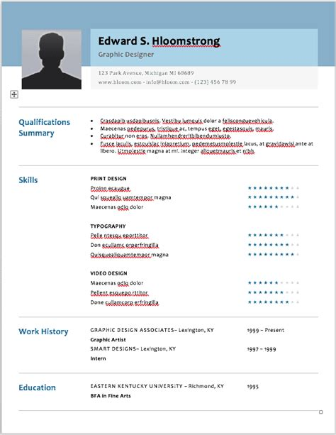 Where To Find Resume Templates by Wayne Lockwood The 17 Best Resume Templates For Every