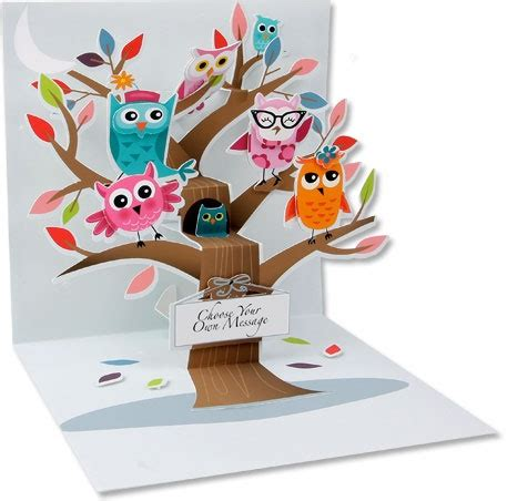 owl pop up card template 114 best images about diy pop up cadrs on