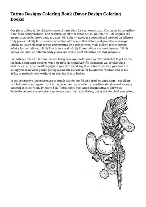 Tattoo Designs Coloring Book (Dover Design Coloring Books)