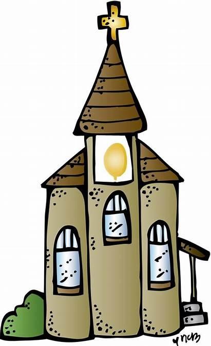 Church Clipart Melonheadz Clock Commandments Clip Ten