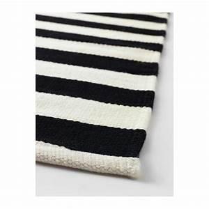 Teppich Schwarz Weiß Gestreift : stockholm teppich fusselfrei handgefertigt gestreift schwarz wei mit einem hauch von ~ A.2002-acura-tl-radio.info Haus und Dekorationen