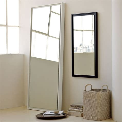 floor mirror west elm west elm inspired diy floating mirror home made by carmona