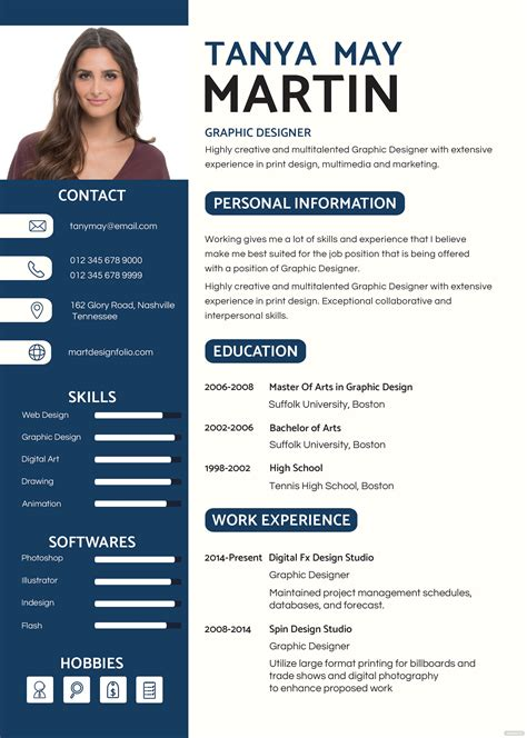professional resume  cv template  psd ms word