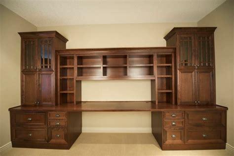 custom  calgary wood desk  drawers evolve kitchens
