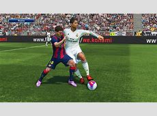 PES 2015 GAMEPLAY El Clasico Real Madrid FC Barcelona