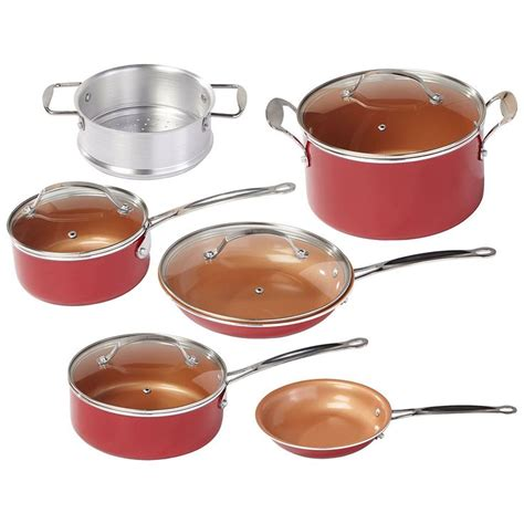 red copper pan reviews  buying guide red copper cookware ceramic cookware set