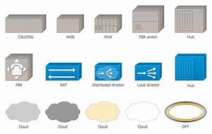 Cisco Network Icons