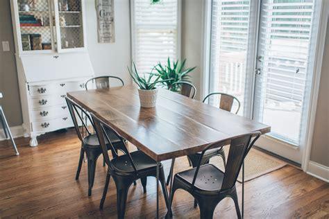 Hairpin Leg Kitchen Table Diy  The Southern Trunk