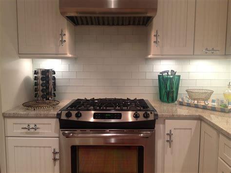Glass Subway Tile Backsplash  Bill House Plans