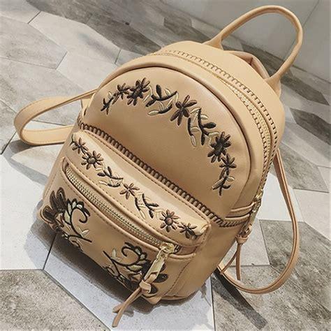 jual tas ransel cantik tas ransel unik tas ransel kulit wanita branded sfbag2475 camel di