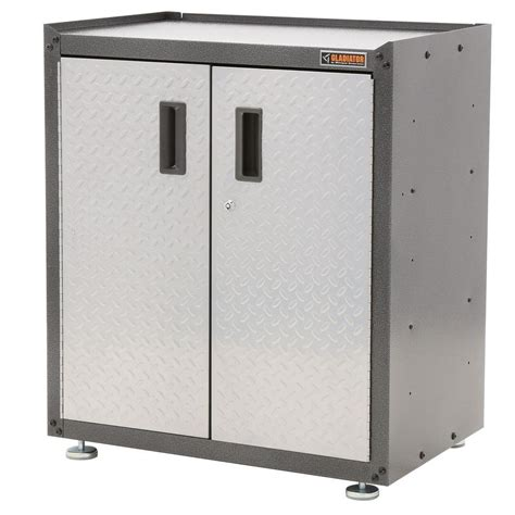 Gladiator Storage Cabinets Home Depot by Gladiator Ready To Assemble 31 In H X 28 In W X 18 In D