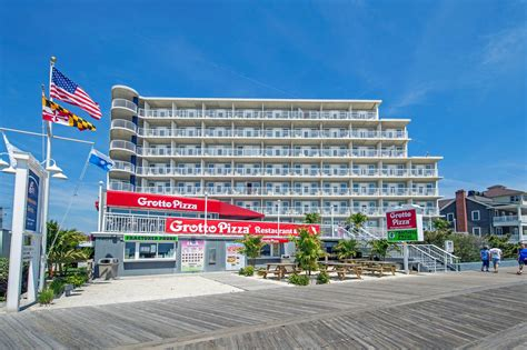 beachfront ocean city maryland hotel photos commander