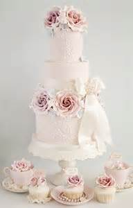 wedding cake with roses vintage ristic wedding cake 3 tier froufrou le bleu