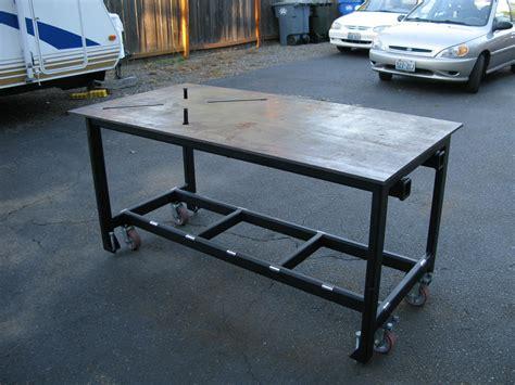 steel welding table plans welding table design review welding bench treenovation