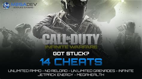 call  duty infinite warfare cheats unlimited ammo