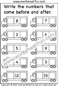 numbers before after and between free printable worksheets worksheetfun