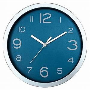 Wanduhr 40 Cm Durchmesser : wanduhr basic silber blau durchmesser 20 cm bauhaus ~ Bigdaddyawards.com Haus und Dekorationen