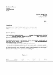 Lettre Deces : modele lettre impots deces ~ Gottalentnigeria.com Avis de Voitures