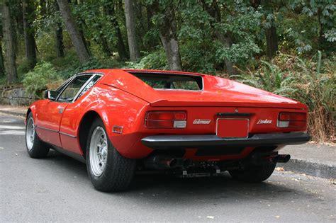 1974 De Tomaso Pantera L 2 Door Hardtop
