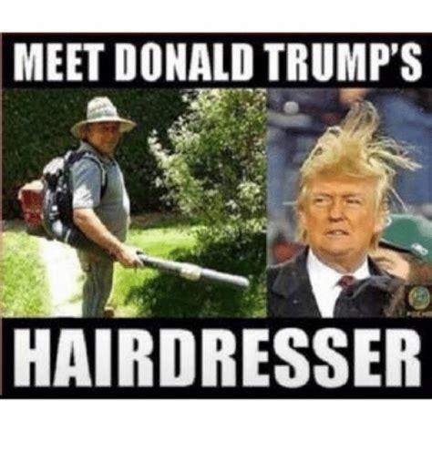 Donald Trump Hair Memes - funny donald trump memes