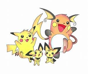 raichu, pikachu, pichu | Pokémon | Pinterest | Art and Pikachu