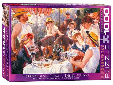 eurographics puzzle renoir the luncheon 1000 pieces