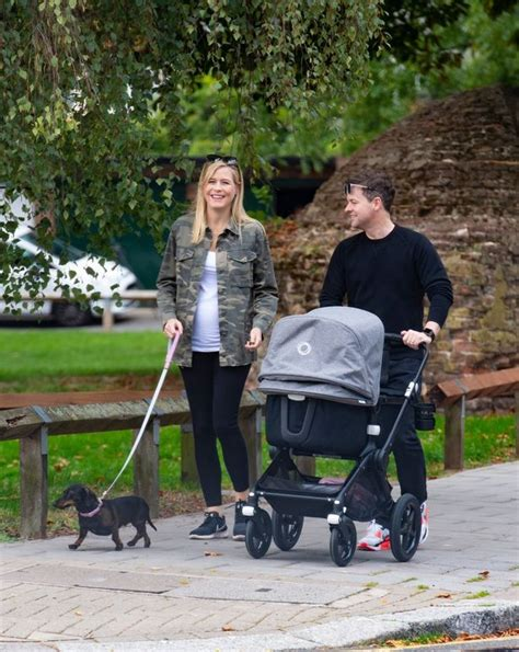 Declan Donnelly and Ali Astall beam with happiness as they ...