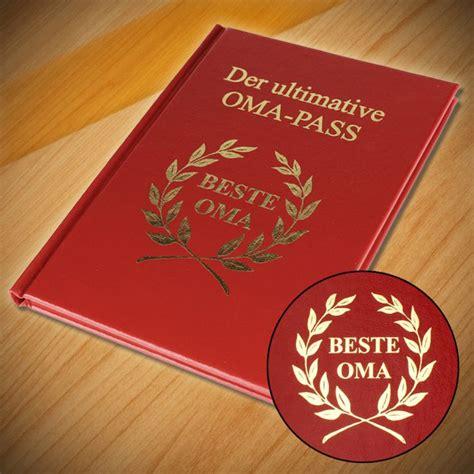 der ultimative oma pass die auszeichnung fuer die beste oma
