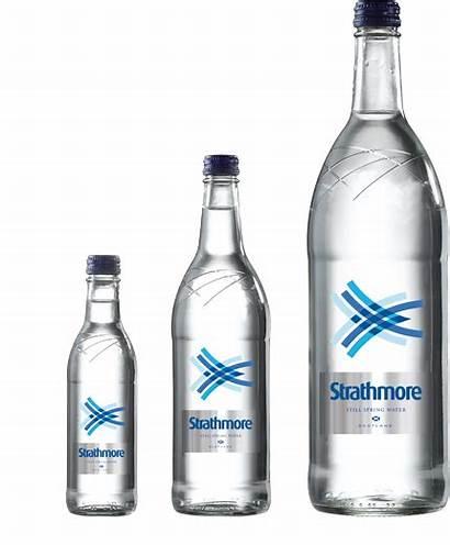 Glass Still Bottle Strathmore Water Bottled Spring