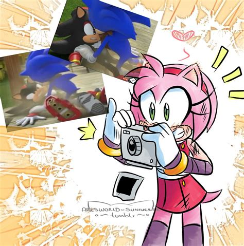 Boom Sonamy Comic Tumblr Sonic Characters Sonic Amy
