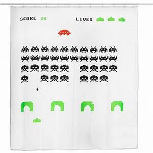 Rechnung Zurückschicken : pixel alien duschvorhang getdigital ~ Themetempest.com Abrechnung