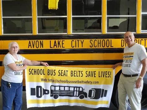 ohio district received school buses lapshoulder seatbelts stn media