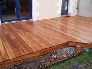Bois Exotique Pour Terrasse : lames de terrasse en teck ~ Dailycaller-alerts.com Idées de Décoration