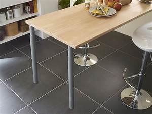 Table De Travail Cuisine : les plans de travail en bois massif authentiques et ~ Nature-et-papiers.com Idées de Décoration