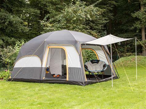 tente familiale 3 chambres skandika tonsberg 5 person layer tent with sewn