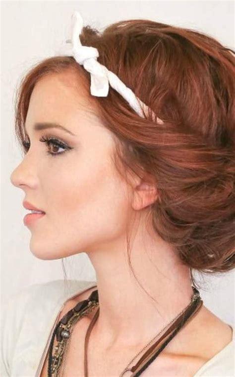 gambar model rambut sanggul modern