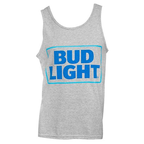 bud light tank top s bud light grey tank top