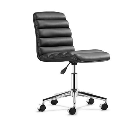 adjustable height office chair for lessen back