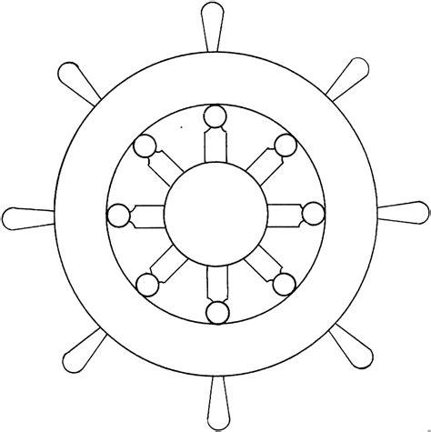 schiff steuerrad ausmalbild malvorlage die weite welt