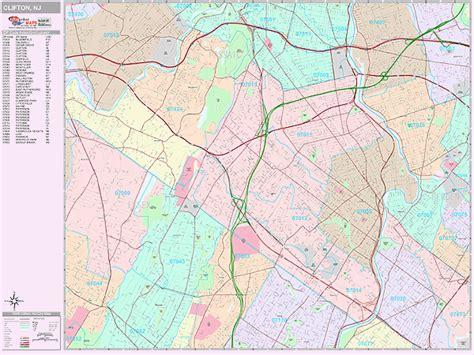 Map Nj Clifton Zip Code